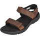 Timberland Roslindale 2-Strap Sandals Men Medium Brown Full-Grain